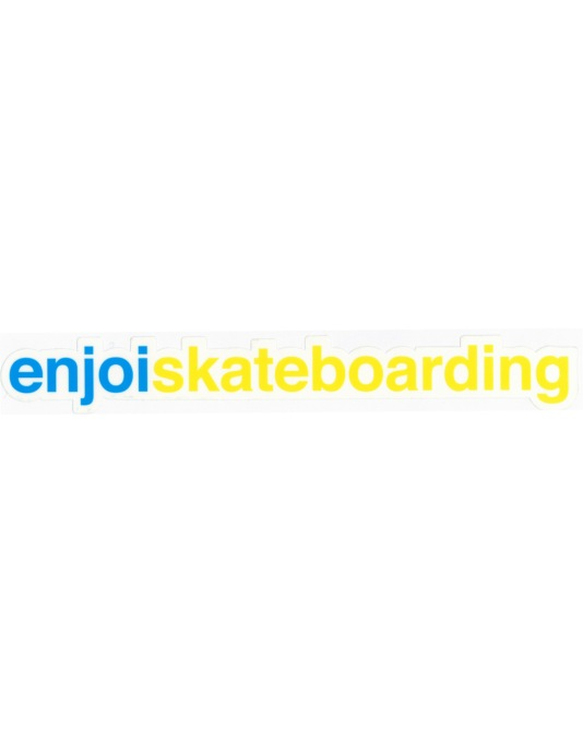 Enjoi Skateboarding Sticker