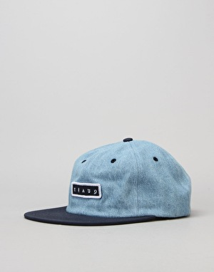 Quasi Bobby 6 Panel Cap - Denim/Navy