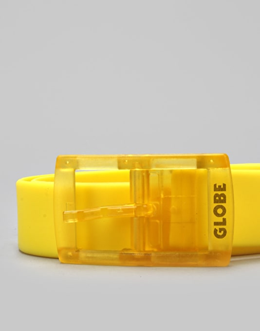 Globe Bantam PU Belt - Yellow