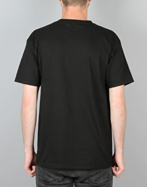 HUF Premiere Box Logo T-Shirt - Black