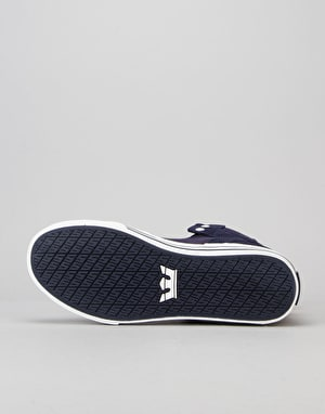 Supra Vaider Skate Shoes - Bluenights/White