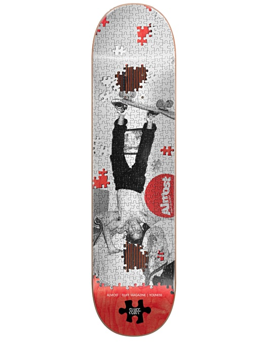 Almost x Fluff Magazine Youness F Puzzle Impact Plus Pro Deck - 8.25""