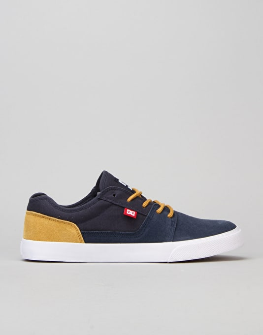 DC Tonik Skate Shoes - Navy/Camel
