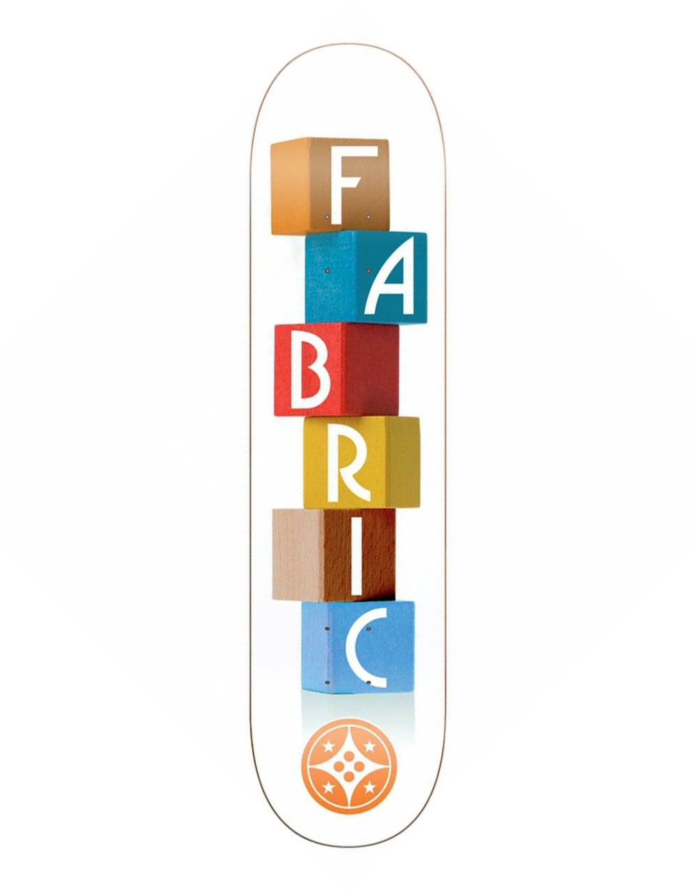 Fabric Building Blocks Skateboard Deck - 7 9