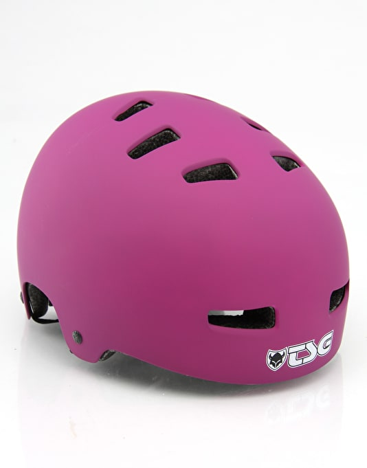 TSG Evolution  Helmet - Flat Purple