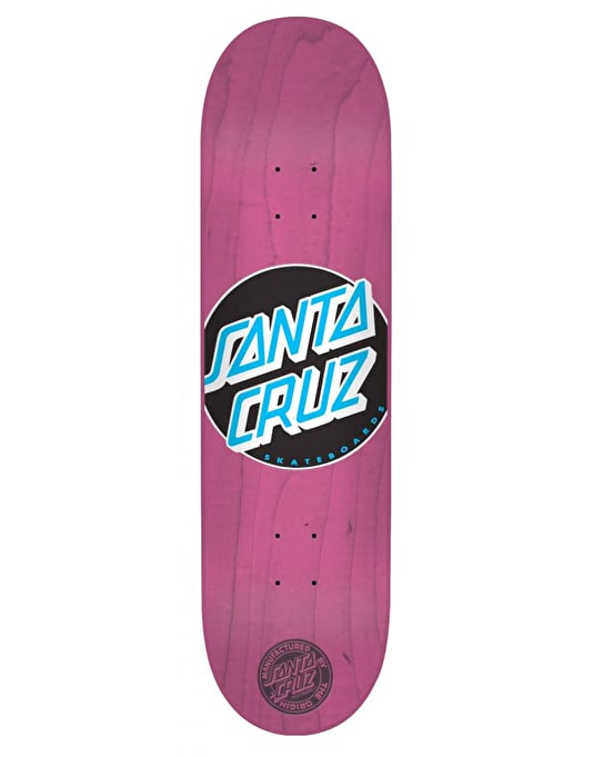 Santa Cruz Classic Dot Team Deck - 8""