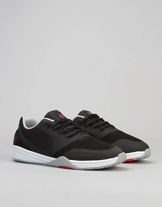 éS Sesla Shoes - Black Grey Red