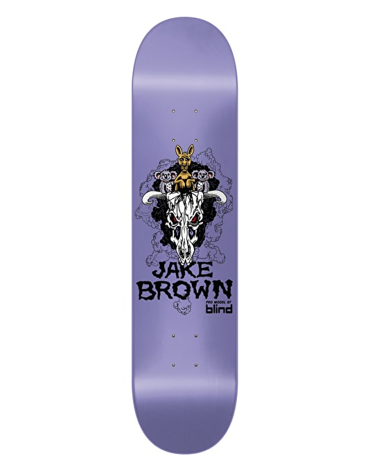 Blind Brown Cuddly Skull EL2 Pro Deck - 7.6""