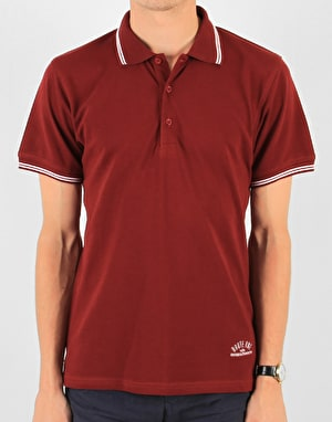 Route One Polo Shirt - Burgundy