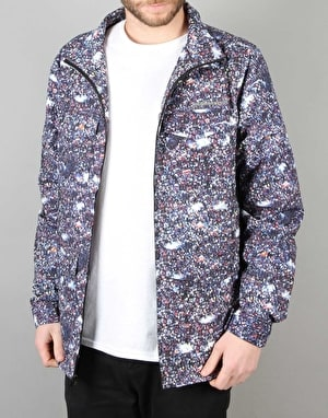 The Hundreds Contras Military Jacket - Multi Crowd