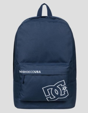 DC Borne Solid Backpack - Navy