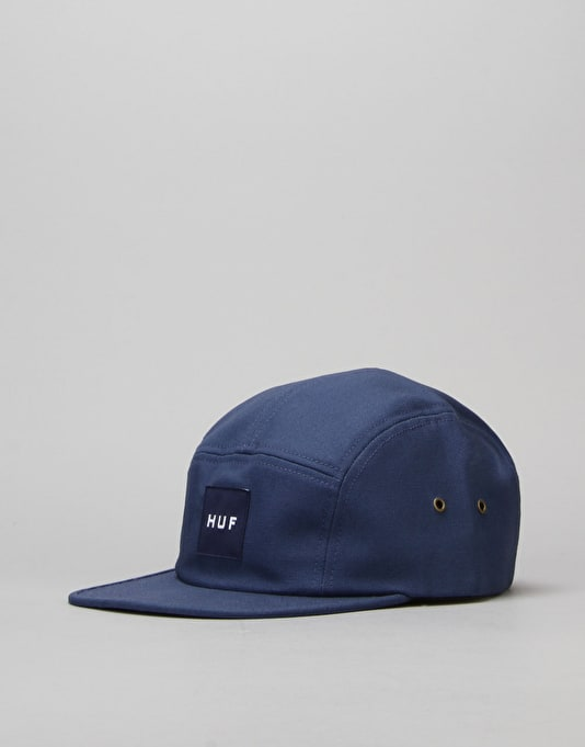 HUF Duck Canvas Volley 5 Panel Cap - Denim