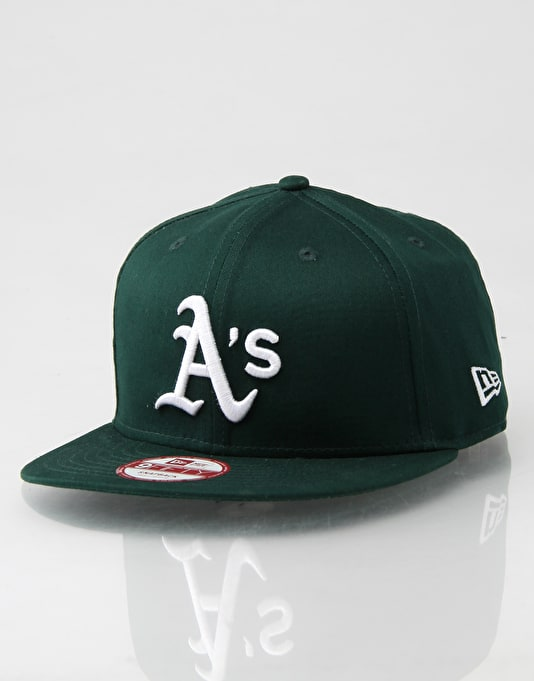 New Era 9Fifty MLB Oakland Athletics Snapback Cap - Green/White