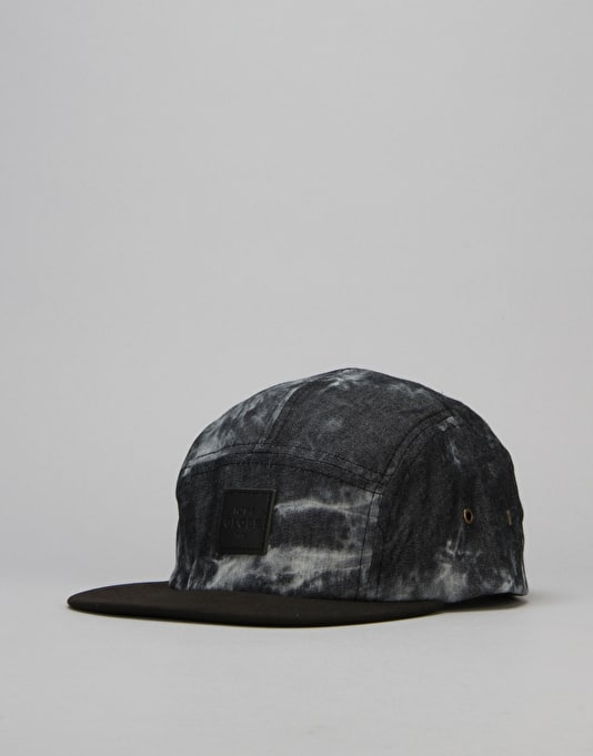 Globe Errol 5 Panel Cap - Acid Black
