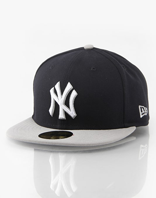New Era MLB NY Yankees Baycik Fitted Cap