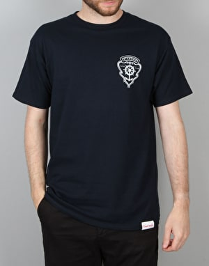Diamond Supply Co. Yacht Crest T-Shirt - Navy