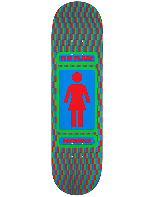 Girl x Lakai Howard The Flare Pro Deck - 8.25""