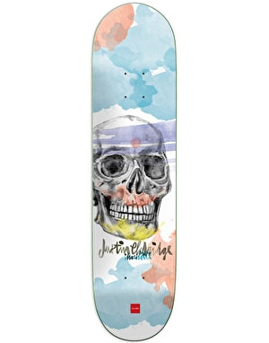 Chocolate Eldridge Skull Pro Deck - 8.25