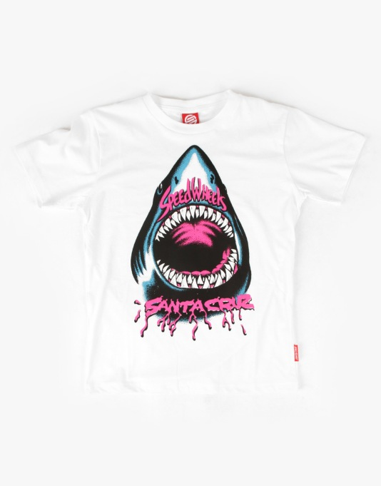 Santa Cruz Speed Will Shark Boys T-Shirt