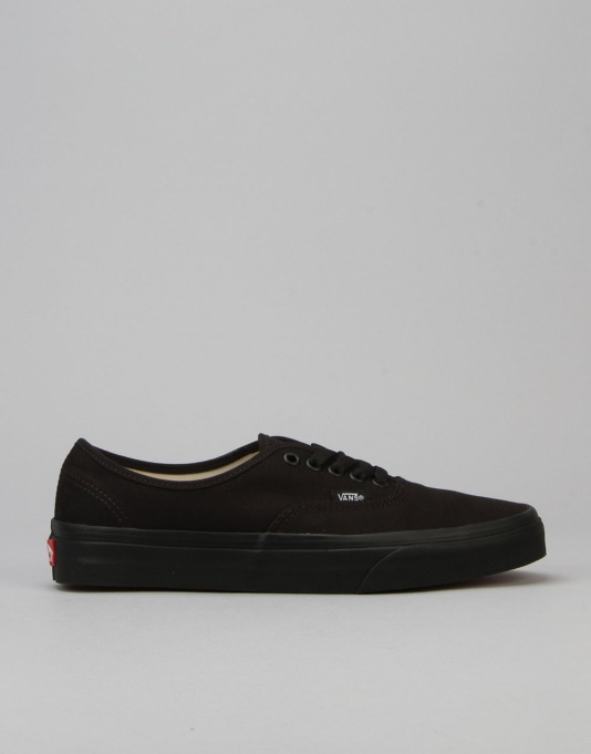 7f06eeb3fe83 Vans Authentic Plimsolls - Black Black