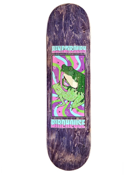 Birdhouse Raybourn Psych Frog Pro Deck - 8.25""