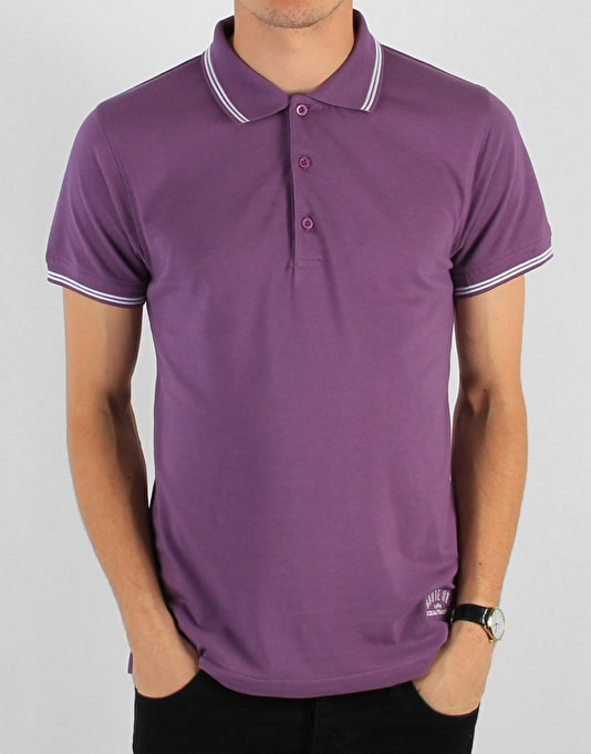 Route One Polo Shirt - Purple