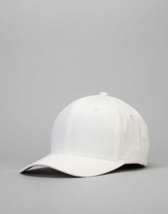 Route One Blank Flexfit Cap - White