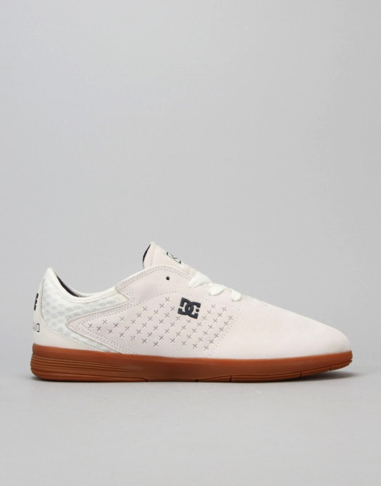 DC New Jack S Felipe Skate Shoes - White Gum