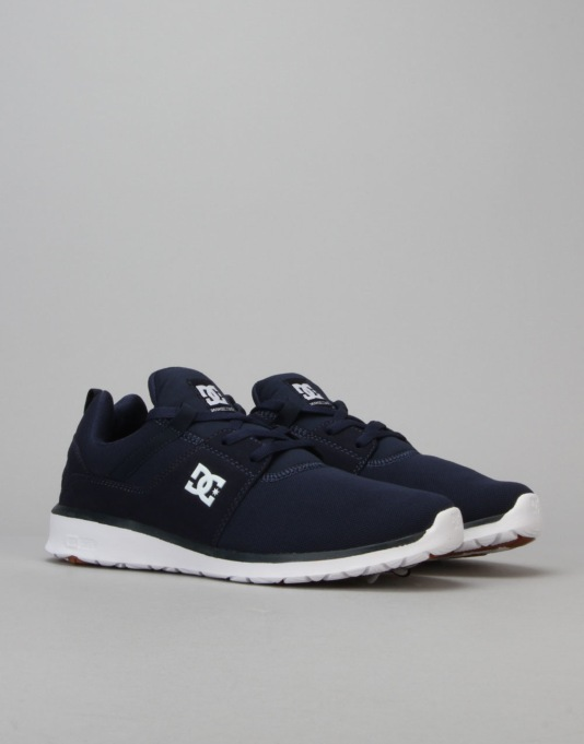 DC Heathrow Skate Shoes - Navy