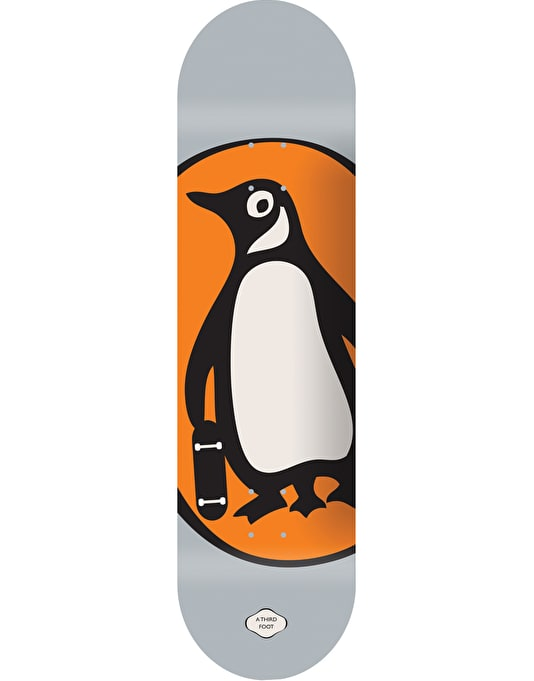 A Third Foot Penguin Team Deck - 7.75""