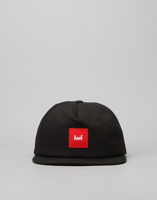 HUF x Chocolate Snapback Cap - Black