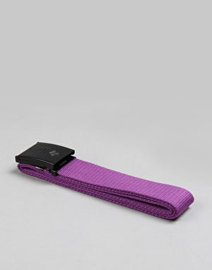 Route One Basic Web Belt - Purple/Black