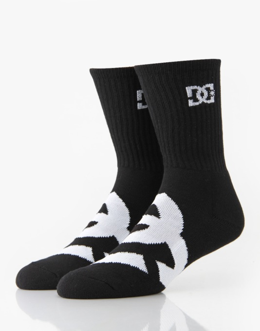 DC Willis Socks - 3 Pack - Black