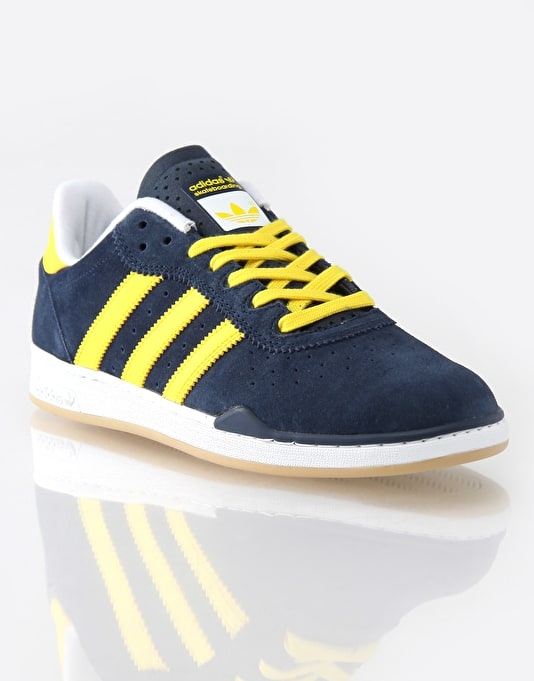 Adidas Ronan Skate Shoes - Navy/Yellow