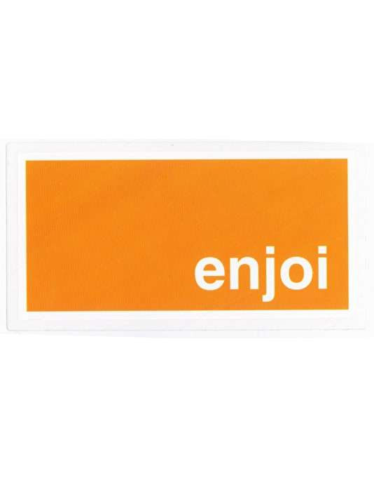 Enjoi Box Logo Sticker