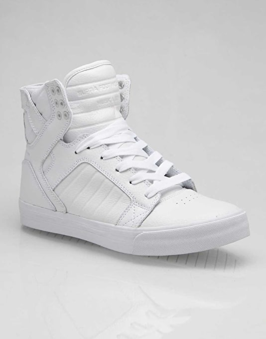 Supra Muska Skytop - White Action Leather