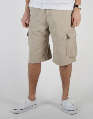 Route One Cargo Shorts - Beige