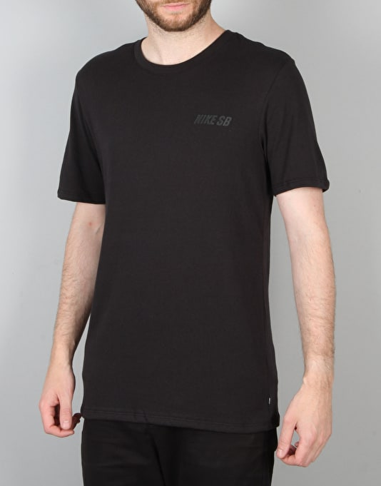 c25ac6db Nike SB Stack T-Shirt - Black/Black/Black | Skate Clothing | Mens  Skateboard Clothes | Route One