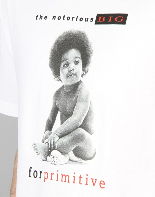 Primitive x Notorious B.I.G. Biggie Ready to Die II Shirt - White