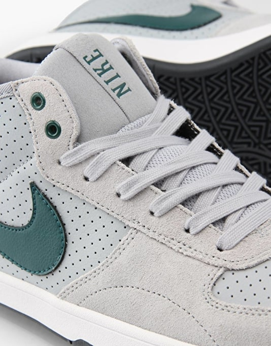 Nike SB Mavrk Mid 3 Skate Shoes - Wolf Grey/Teal