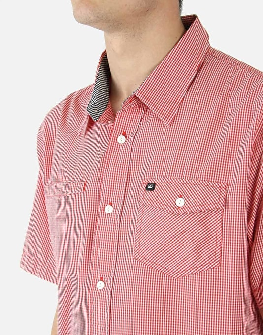 DC Blue Orchid Shirt - Red