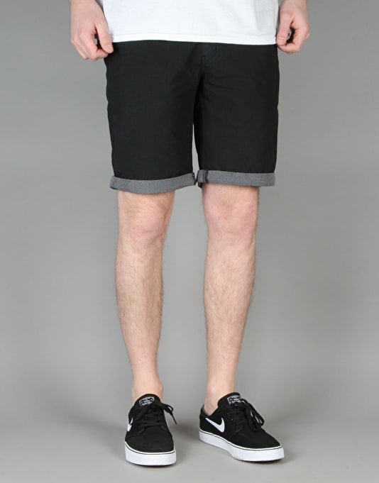 Route One Tailor Shorts - Black