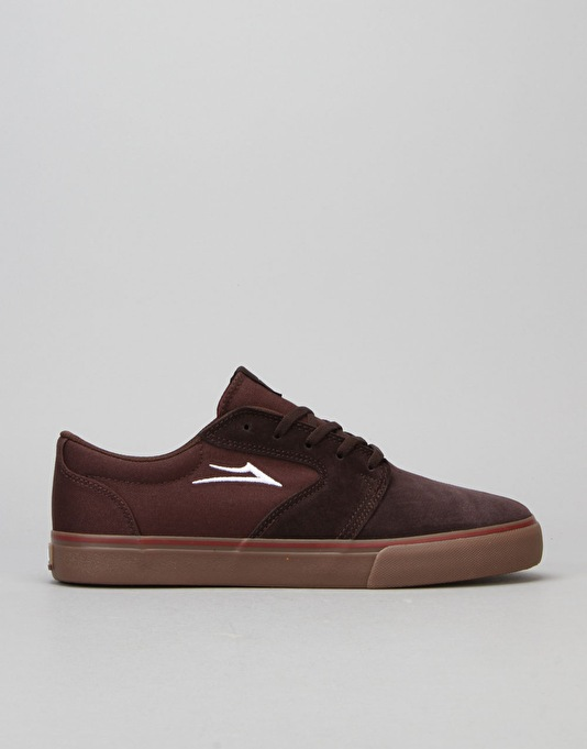 Lakai Fura Skate Shoes - Brown/Gum Suede