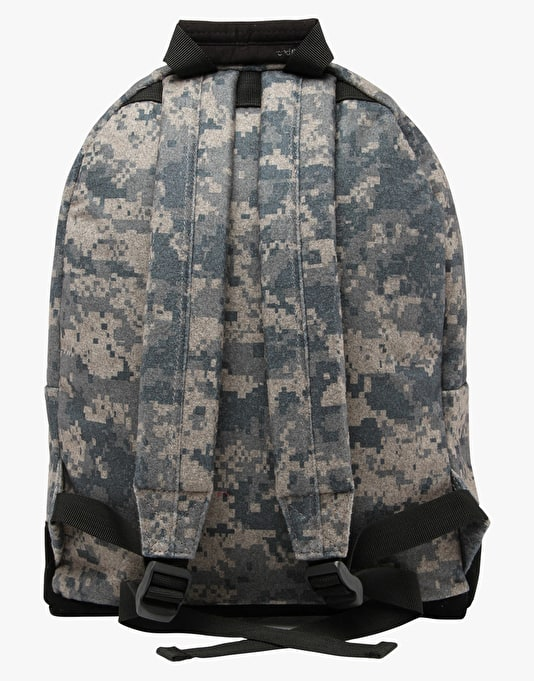 Mi-Pac Digi Camo Backpack - Grey/Black