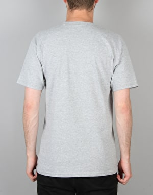 Diamond Supply Co. Geometric T-Shirt - Athletic Heather