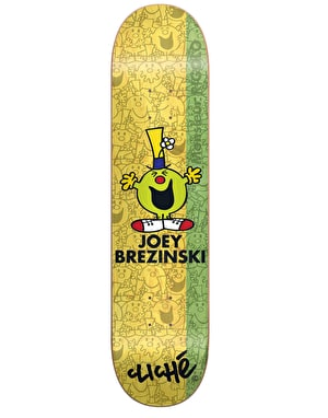 Cliché x Mr. Men Brezinski Monsieur Madame Pro Deck - 8.25