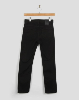 Route One Skinny Fit Boys Jeans - Flat Black