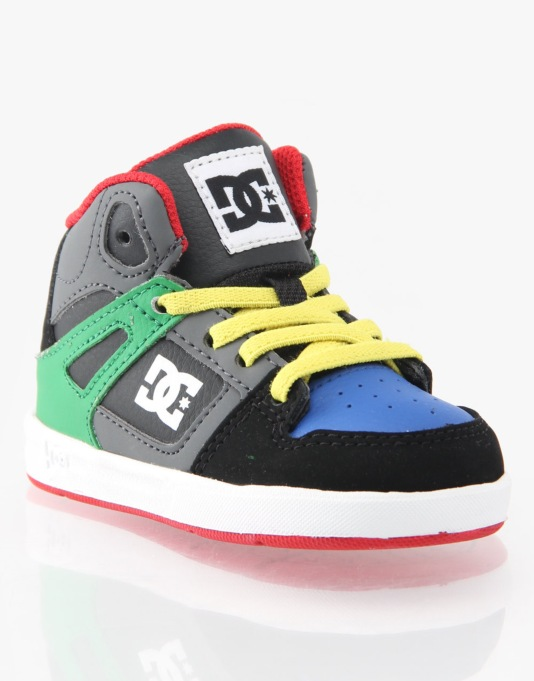 DC Rebound UL Toddlers Skate Shoes