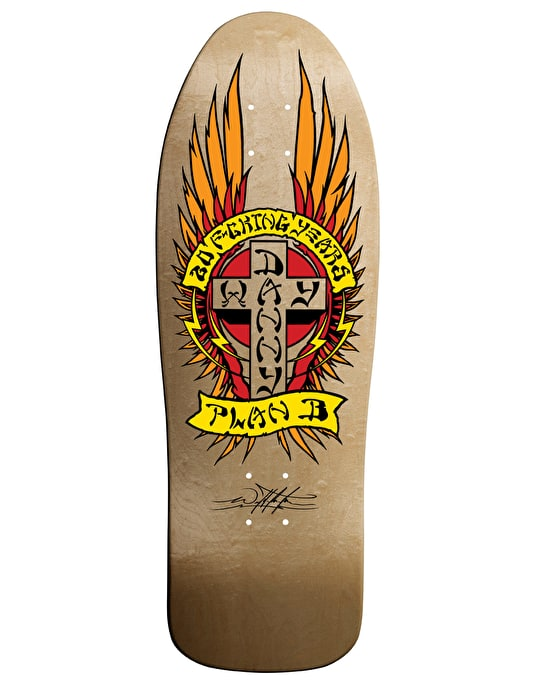 Plan B Way DW20 1989 Pro Deck - 10""