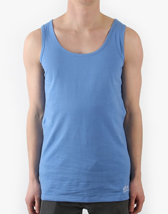 Route One Basic Vest - Bright Blue
